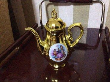 Bakı şəhərində Продаю чайник от кафейного сервиза. цена 20 ман.