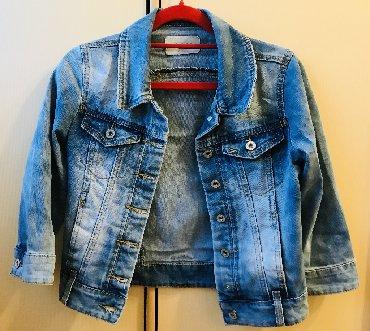 весеннюю курточки в Кыргызстан: Джинсовая курточка в стиле Crop, производство Турция, бренд Emka