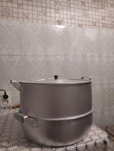 Другая посуда - Кыргызстан: Продаю мантышницу большую,цена 1200