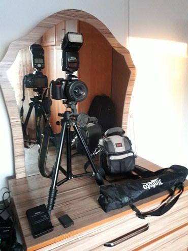 Продаются фотоаппарат Nikon D3100,вспышка в Каракол