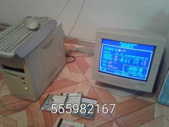 asus-s в Кыргызстан: Продаю монитор с системным блоком, клавиатурой, мышкой. Пентиум-3