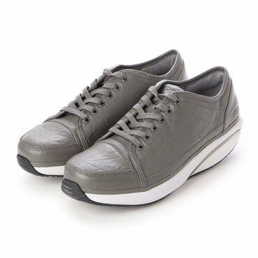 спортивные кроссовки мужские в Кыргызстан: Кожаные кеды-ботинки от швейцарского бренда MBT с запатентованной
