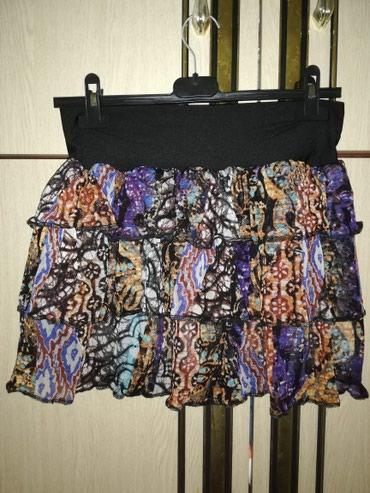 Suknja sa karnerima. NOVA - Pancevo