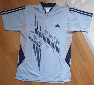 Adidas original sportska majica svetlo plava za sport ili