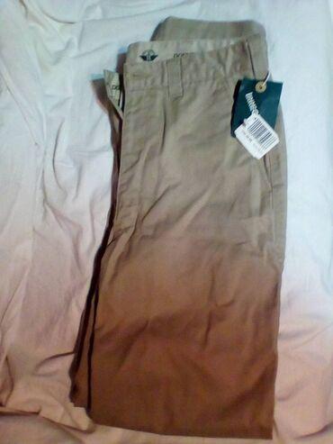Pantalone pamuk polyester - Srbija: Pantalone,100%,pamuk,velicina 29w///30L,,NOVE