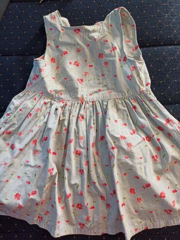 Decije haljine - Krusevac: Prelepa pamučna haljinica za devojčice koja se kopča pozadi.Velicina