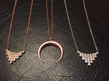 Bakı şəhərində Silver rose gold 925