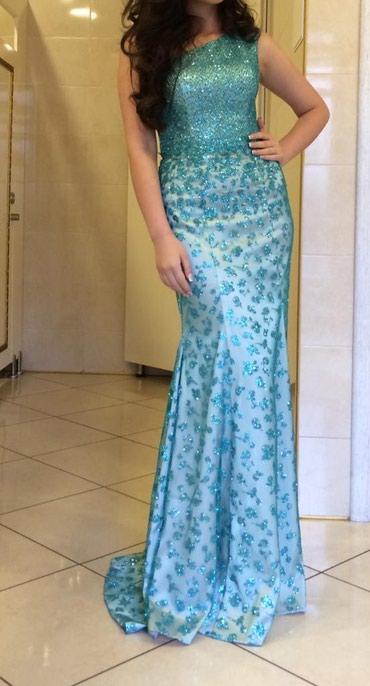 Очень красивое платье сшили на заказ, в Бишкек