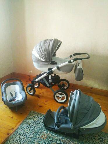 автолюлька nania в Кыргызстан: Продаю универсальную польскую коляску Adamex Barletta 3в1 в идеальном