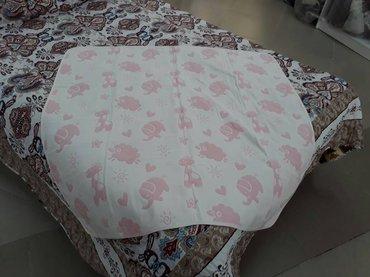 Одеяло детское 120*120 Лён в Бишкек