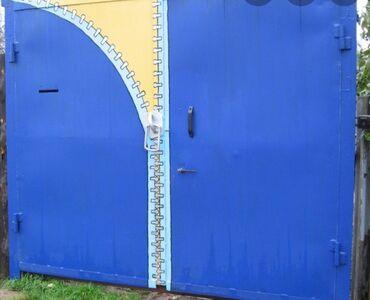ворота на гараж в Кыргызстан: Ворота   Распашные   Металлические