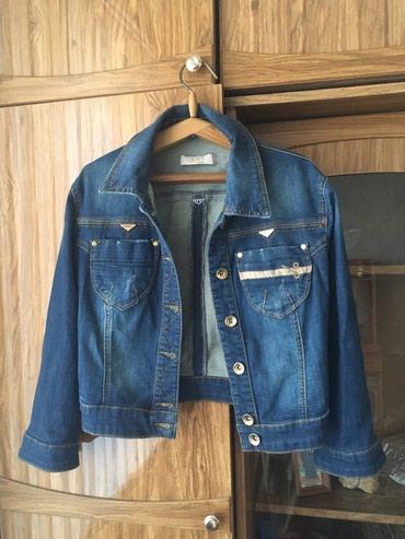 детская джинсовая куртка в Кыргызстан: Джинсовая куртка идеальное состояние