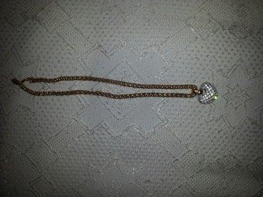 Ogrlica sa neodinium magnetom sa priveskom sa svarovskim kristalom i - Peristasi