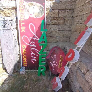turkan - Azərbaycan: Salin ucun reklam yazilar. Isiqla isleyir.herflerin olcusu 25sm