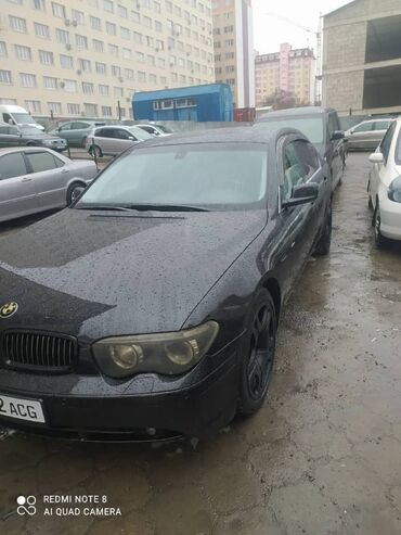 BMW 745 4.4 л. 2002
