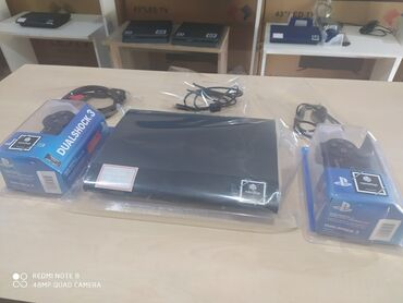 SONY playstation 3 super slim 500GB, 2 yeni pult, yeni HDMİ, USB və