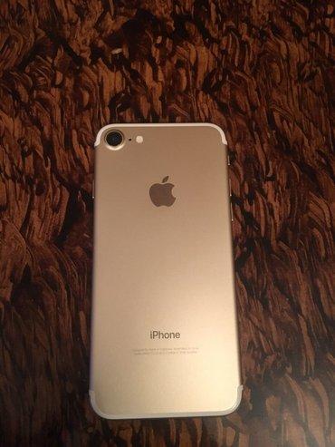 Bakı şəhərində Iphone 7 Gold 32 GB , telefon ideal veziyyetdedir , cox seliqeli ve qi