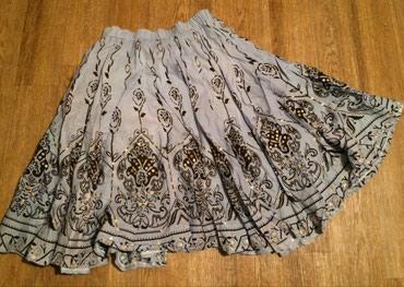 синяя юбка в Кыргызстан: Шикарная юбка с блестками на р46