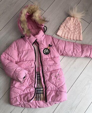 ⠀  Зимняя куртка  На 5-7 лет  Состояние Хорошее    шапочка в подарок