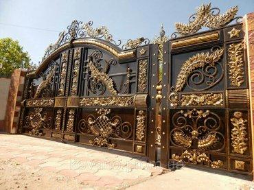 изготовление металлоконструкций Ворота решетки фермы навесы топчаны пе в Бишкек