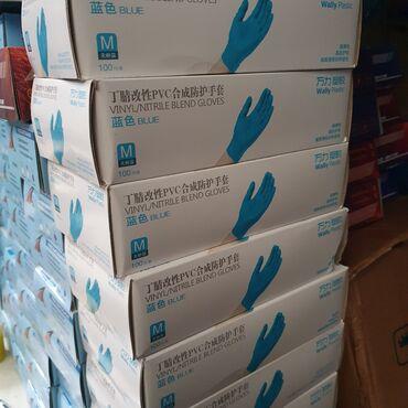 джойстики китай в Кыргызстан: Нитрил(synthetic)синий цветМ,Л размер Производство: КитайМожете