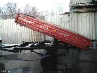 Прицеп самосвал, грузоподъёмностью 2-е тонны, + решётка для перевоза с в Кант