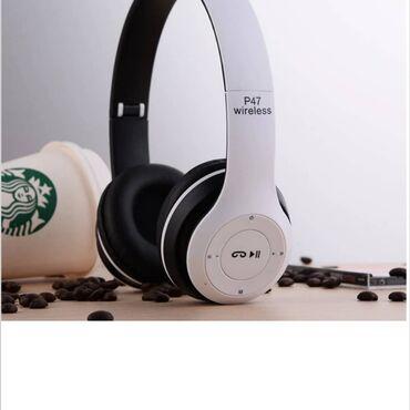 Elektronika - Pirot: Bluetooth slusalice sklopive: Verzija4.2 -FMradio -MP3 -Ugradjen mik