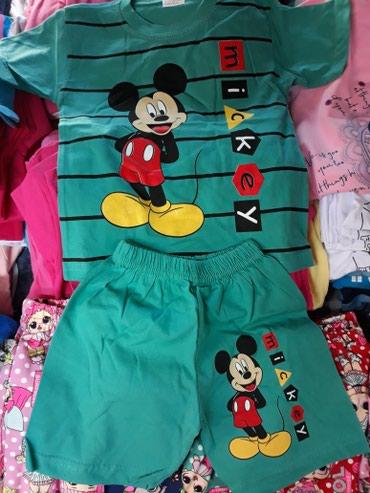 Ostala dečija odeća   Futog: Pamučni Miki komplet za dečake, veličine 122 i 128