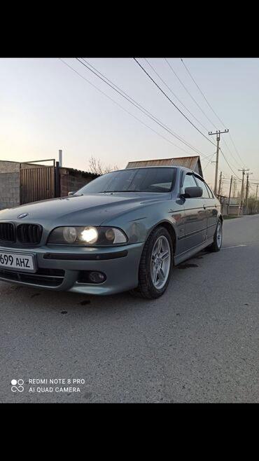 BMW - Зеленый - Бишкек: BMW 525 2.5 л. 2003