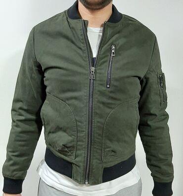 Muske jakne zimske - Srbija: Muska jakna, maslinasto zelenaJakna je kao nova,cak i nenosena,nije
