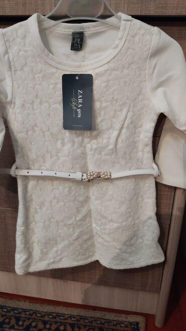 Девочковое платья на от 1до2 лет. Белое,х/б,новое