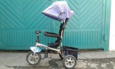 Детский мир - Дачное (ГЭС-5): Продаю велосипед. Состояния видно на фото. Ручка есть. Надо трос