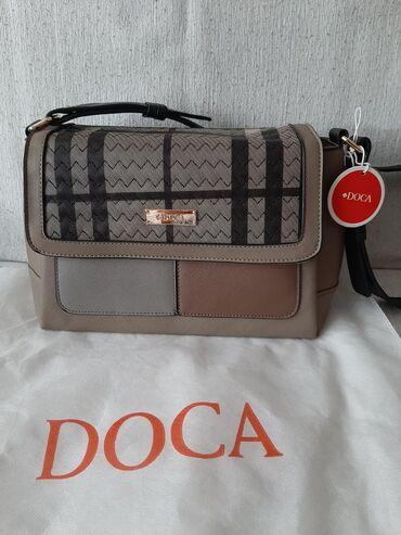 Nova DOCA torba sa etiketom i vrecicom