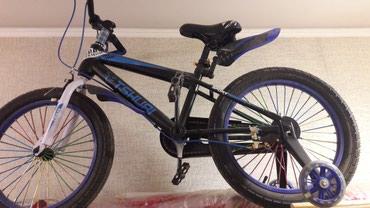 велосипед для детей 3 6 лет в Кыргызстан: Срочно продам велосипед. Почти новый, на улице побывал пару раз. Для