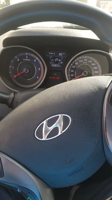 автомобиль hyundai getz в Кыргызстан: Hyundai Avante 1.6 л. 2014 | 157000 км