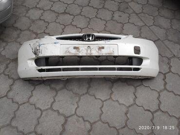 Хонда фит  Бампер Белый жемчуг Япония ( не Тайвань )  Цена 1000  #бамп