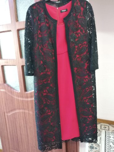 Покупали за 11000. Двойка платье с накидкой. Турция.  в Бишкек - фото 3