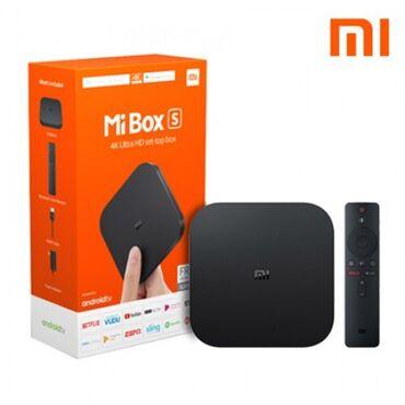 tv tuner - Azərbaycan: XiaoMi 4K Ultra HD + HDR Android TV cihazı ( Mi TV Box S aparatı