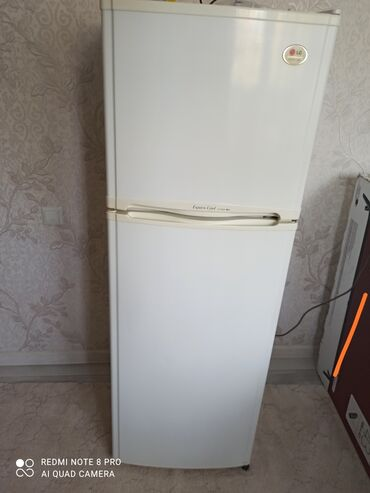 zarjadnoe ustrojstvo lg в Кыргызстан: Б/у Двухкамерный Белый холодильник LG