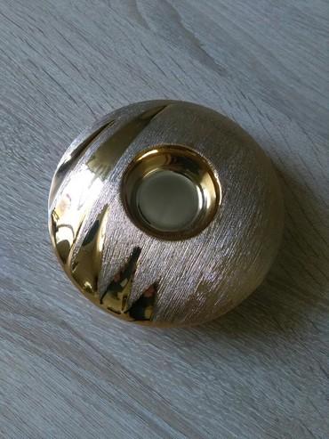 Подсвечники - Кыргызстан: Подсвечник новый, новогодний, керамика
