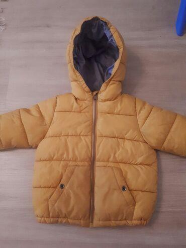 Детская куртка можно на девочку так и на мальчика. 18-24 мес. 92см