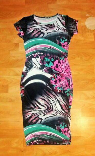 Ženska odeća | Senta: Haljina sa printom  Velicina L