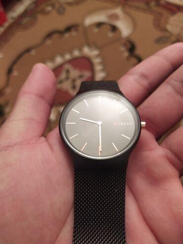 curren 8158 в Кыргызстан: Часы Curren Почти новый Носил 3-4 раза Миланский ремешок Новинка сом