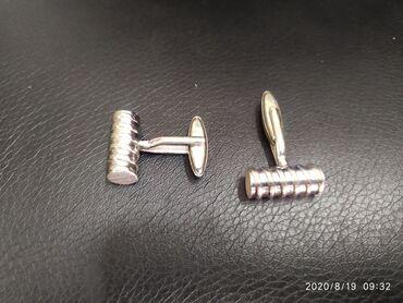 Продаю запонки серебро