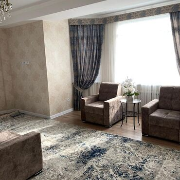 квартиры-долгосрочно в Кыргызстан: Сдается квартира: 2 комнаты, 75 кв. м, Бишкек