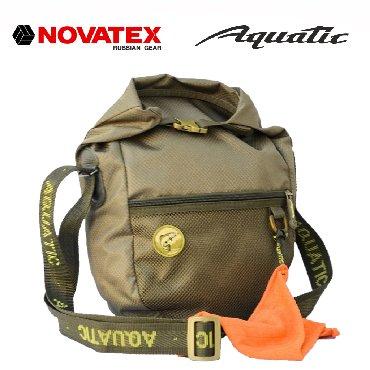 Сумка Aquatic изготавливается из нейлоновых материалов с