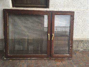 Ostalo za kuću | Pozarevac: Prozor - duplo staklo sa venecijanerima.Dimenzije: širina 169 cm