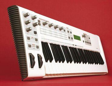 игровая клавиатура для телефона в Кыргызстан: Midi клавиатура со встроенной звуковой картой и функциями аналогового