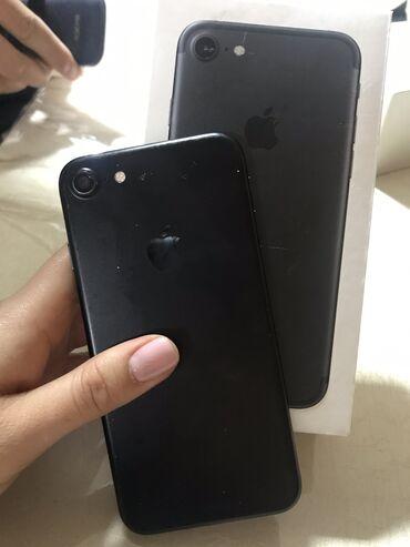 iphone 7 купить бу в Кыргызстан: Б/У iPhone 7 32 ГБ Черный