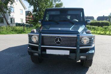 Mercedes-Benz в Кыргызстан: Mercedes-Benz G 400 2001